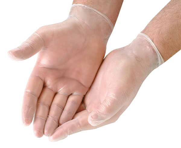 Disposable-White-Vinyl-Gloves