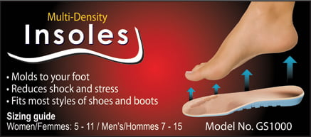 GO SEAMLESS INSOLES