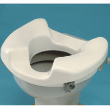 wide raised toilet seat